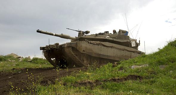 """טנק מרכבה סימן 4 של צה""""ל"""
