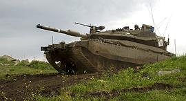 """טנק מרכבה סימן 4 טנקים צה""""ל, צילום: אפי שריר"""