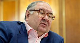 אלישר אוסמנוב מיליארדר רוסי טייקון בעלים mail.ru, צילום: בלומברג