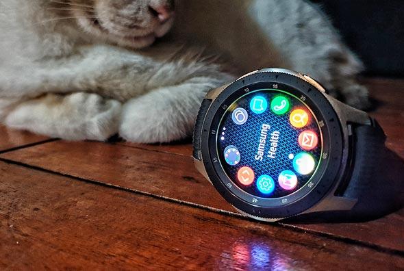 גלקסי Watch סמסונג מחשוב לביש שעון חכם, צילום: ניצן סדן