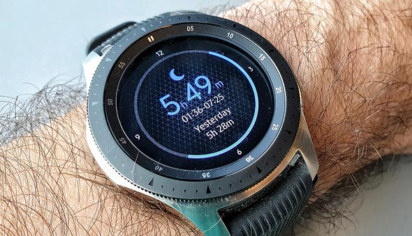כן, שעון סמסונג, אני יודע שישנתי כמעט שש שעות
