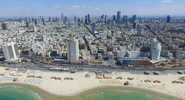 Tel Aviv's skyline. Photo: Shutterstock