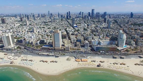 קו הרקיע של תל אביב, צילום: שאטרסטוק