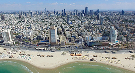 קו החוף של תל אביב, צילום: שאטרסטוק