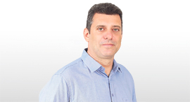 """מנכ""""ל חברת אליום מדיקל אסף אלפרוביץ, צילום: ארז אוזיר"""