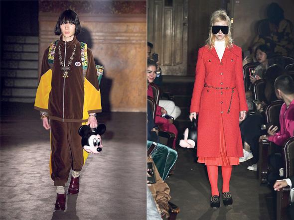 תצוגה של ג'וצי משבוע האופנה בפריז 2018