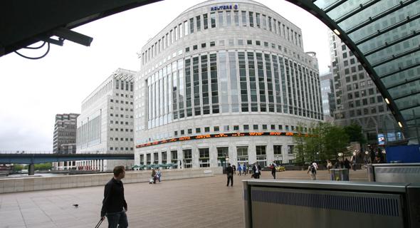 """מטה רויטרס בלונדון. HNA רכשה את הבניין ב־235 מיליון ליש""""ט, צילום: בלומברג"""