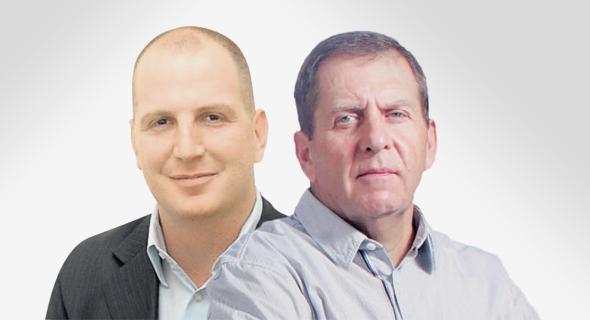 """מימין: ירון קסטנבאום מקרן תש""""י ויוסי זינגר מג'נריישן קפיטל"""