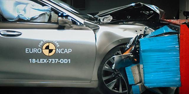 מבחני בטיחות חדשים: מכוניות המימן של יונדאי ומרצדס זכו לציון גבוה של חמישה כוכבים