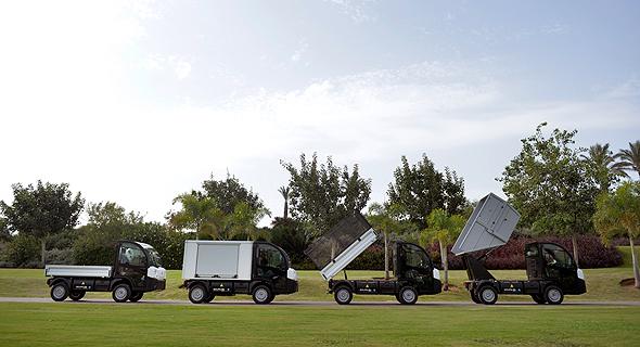 הגרסאות השונות לרכבי G4, צילום: בני דויטש