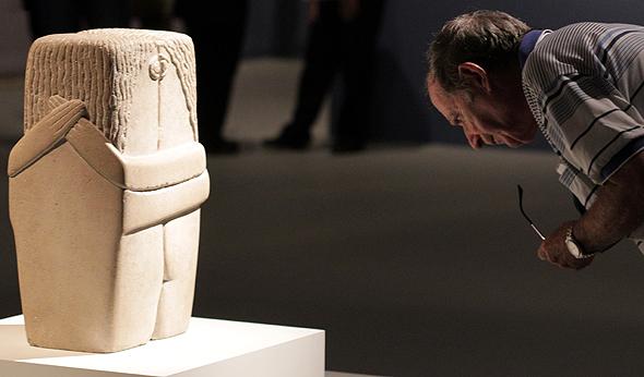 """""""הנשיקה"""" של ברנקוזי. כל מה שמפעים באמנות, צילום: Tim Tiebout"""