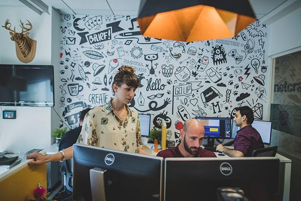 סטודיו נטקרפט אקדמי מבית אלעד מערכות, צילום: ויקטור לוי