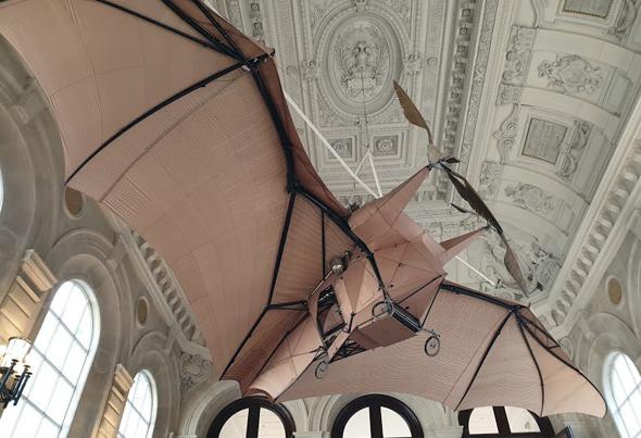 מטוס ה-Avion כיום, במוזיאון בפריז