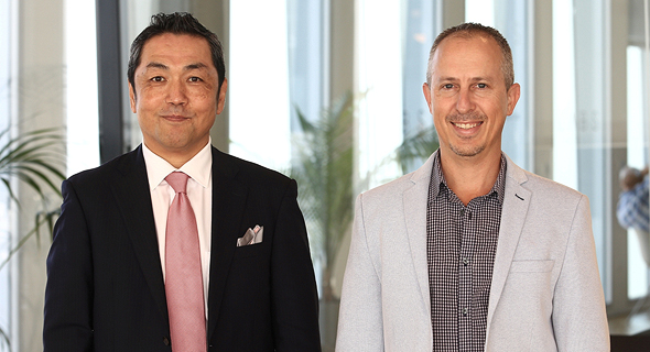 Koichi Narasaki (left) and Yinnon Dolev. Photo: Fabian Koldorff