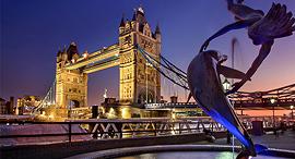 גשר לונדון, צילום: Julius_Silver/Pixabay