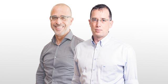 """מימין: מנכ""""ל פלאפון רן גוראון ומנכ""""ל פרטנר איציק בנבנישתי. יכריעו את הצלחת המהלך, צילום: אוראל כהן"""