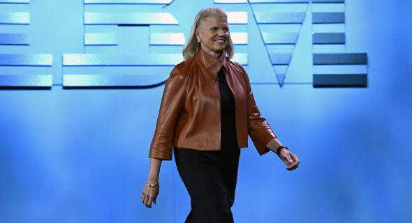 """ג'יני רומטי, מנכ""""לית IBM"""