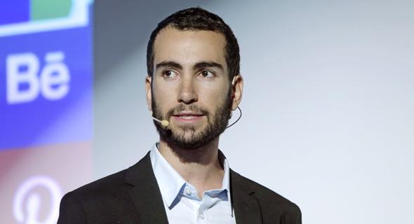 Senior Cyber Intelligence Analyst at ClearSky Ohad Zaidenberg. Photo: Amit Sha'al