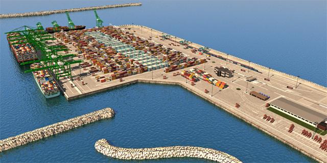 היסטוריה בענף הספנות: חברת TIL קיבלה מנמלי ישראל שטח ראשון של הנמל החדש באשדוד