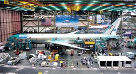 מפעל של בואינג, צילומים: שאטרסטוק ויאיר שגיא