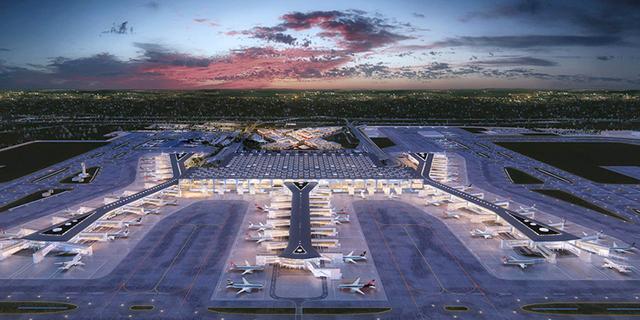 """צפו: כך נראה נמל התעופה החדש באיסטנבול - """"הגדול בעולם"""""""
