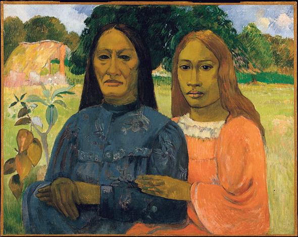 שתי נשים של גוגן