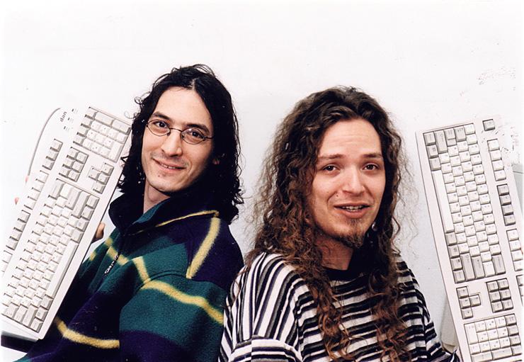 """אריק ורדי (מימין) ויאיר גולדפינגר, ממייסדי מיראביליס. """"אם הם לא היו מוכרים, יכלו להיות שחקן גלובלי משמעותי"""""""