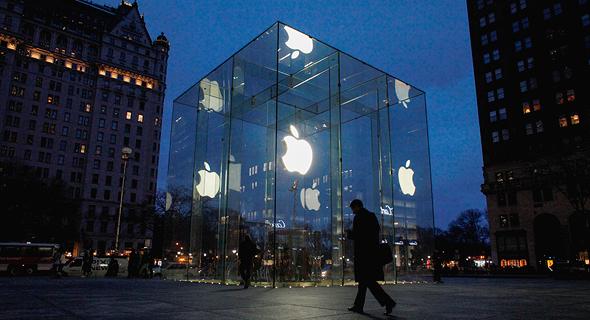 חנות אפל השדרה החמישית מנהטן ניו יורק, צילום: גטי אימג'ס