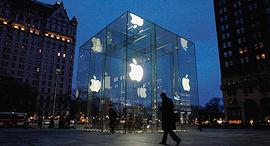 חנות אפל בשדרה החמישית בניו יורק, צילום: גטי אימג'ס