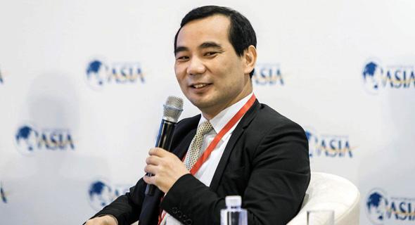 וו שיאוהוי, מייסד אנבנג ביטוח , צילום: בלומברג