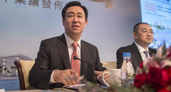 """שו ג'יאקין, יו""""ר Evergrande , צילום: china daily"""