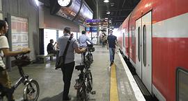 אופניים רכבת ישראל, צילום: ירון ברנר