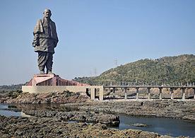 הפסל הגבוה בעולם, בהודו, צילום: רויטרס