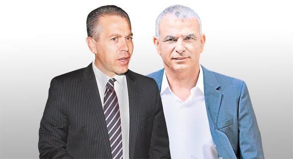 משה כחלון יור מפלגת כולנו גלעד ארדן, צילומים: עמית שעל, אוראל כהן