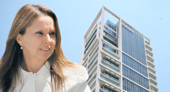 שרי אריסון, על רקע מגדל השופטים