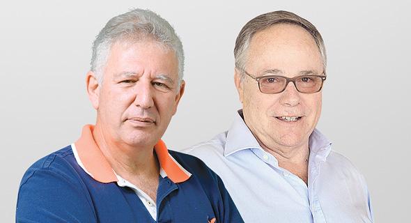 מימין: יאיר המבורגר וגילעד אלטשולר