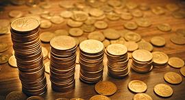 כסף מטבעות פנסיה חיסכון , צילום: שאטרסטוק