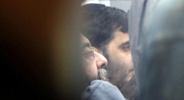 זבולון לבייב בעת הארכת מעצרו