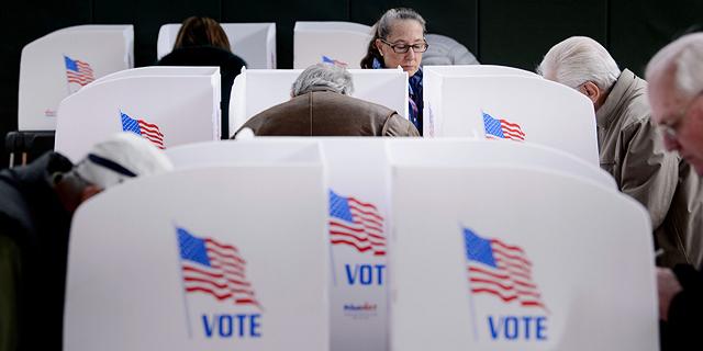 """בחירות האמצע בארה""""ב השנה, צילום: איי אף פי"""