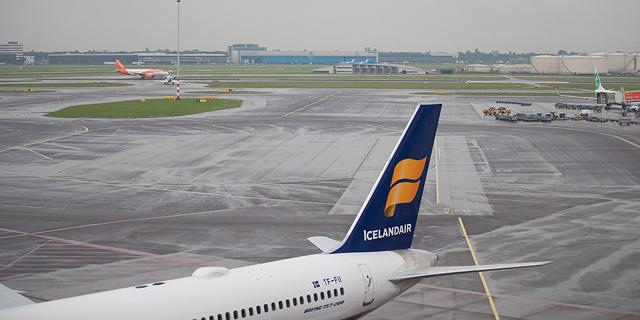 מטוס של איסלנדאייר, צילום: בלומברג