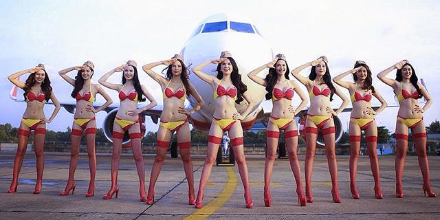 ביקיני איירליינס: הכירו את חברת התעופה הסקסיסטית בעולם