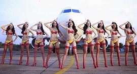 חברת תעופה וייטג'ט Vietjet וייטנאם ביקיני, צילום: Vietjet