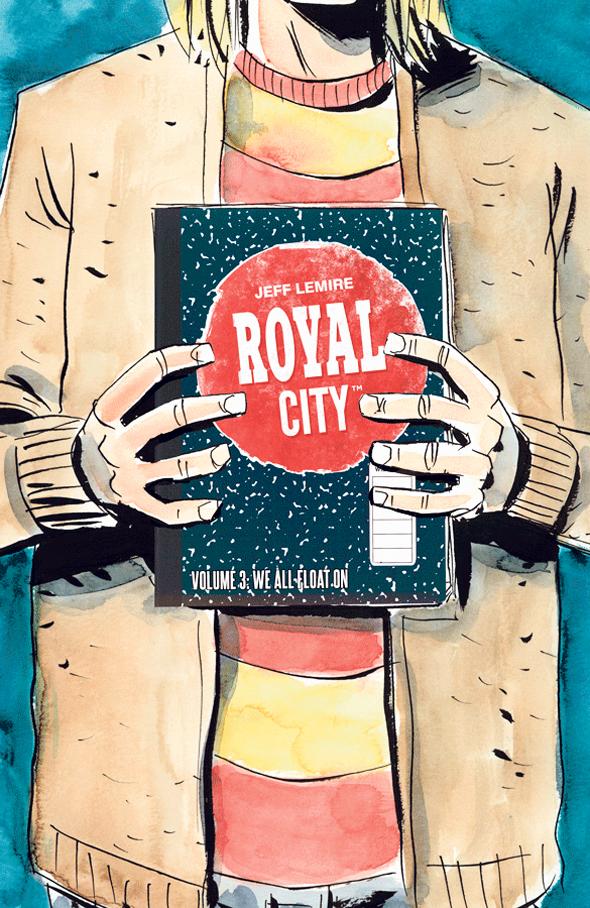 כריכת ספר רויאל סיטי 3, רומן גרפי, צילום: HBO