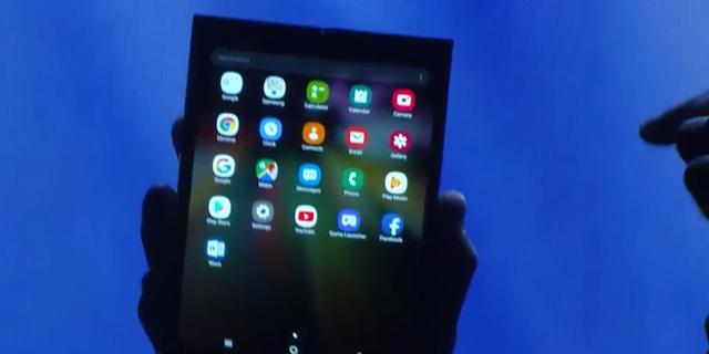סמסונג מציגה: כך יפעל ממשק הטלפון המתקפל שלנו, שכבר נכנס לייצור