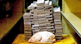 ונצואלה אינפלציה עוף 14.6 מיליון בוליבר 2.22 דולר , צילום: רויטרס