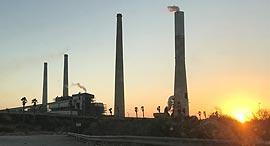 תחנת כח אורות רבין חדרה חברת החשמל