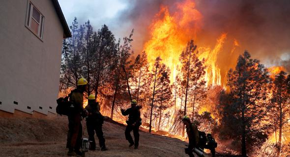 שריפה ב-2018 בקליפורניה