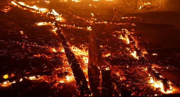 השריפות בקליפורניה
