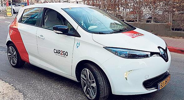 CAR2GO, צילום: CAR2GO