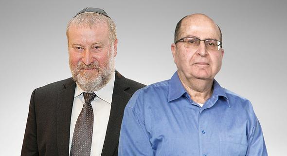 מימין: יעלון ומנדלבליט, צילום: תומריקו, אוראל כהן